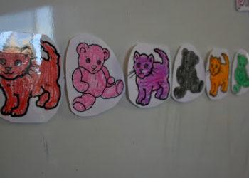 Animal Color Word Match