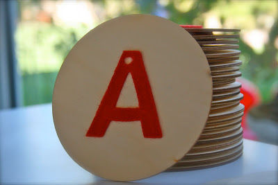 DIY Montessori Sandpaper Letters!