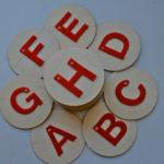 DIY Montessori Sandpaper Letters
