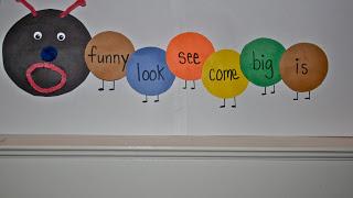 The Sight Word Caterpillar