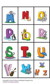 photo regarding Abc Bingo Printable identified as ABC Bingo Game Printable Cost-free!
