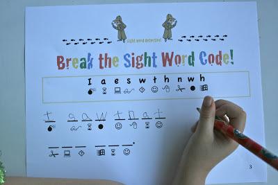 Break the Sight Word Code!