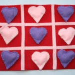 Valentine Tic-Tac-Toe Felt Game!