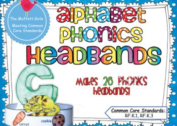 Alphabet Phonics Headbands!