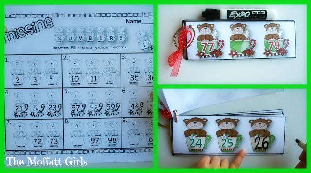10 Christmas Math Centers!