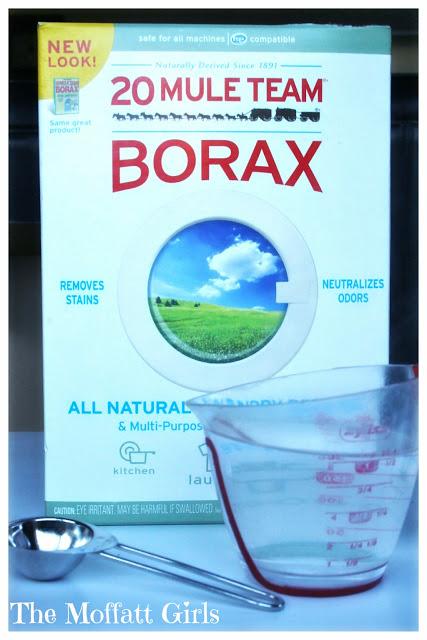 Easy Borax Snowflakes!
