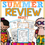 Summer Review Packet for Kindergarten!