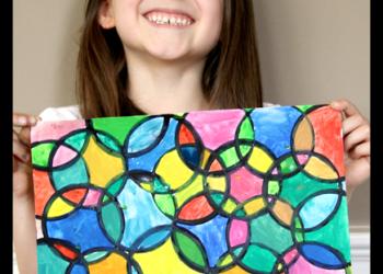 Easy Circle Painting Art