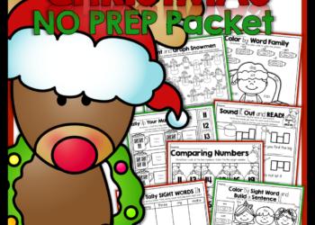 December NO PREP Packets