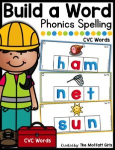 Building words using phonics skills