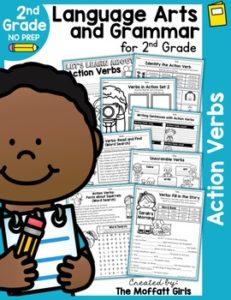 Action Verbs (Language Arts and Grammar)