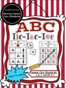 ABC Tic-Tac-Toe
