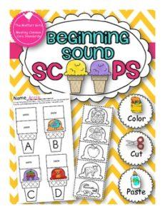 Beginning Sounds, phonics, letter recognition