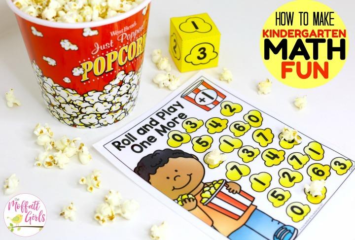 How to make Kindergarten Math Fun