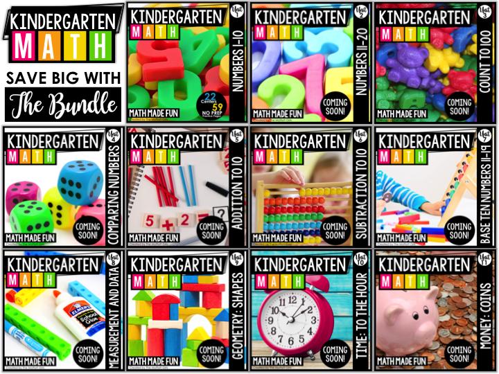Slide1 5 - Kindergarten Math Curriculum