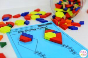 Kindergarten, Kindergarten Math, Common Core Math, Shapes, Composing Shapes, Math Games