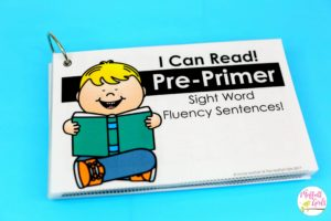 Sight Word Fluency, Sight Words, Pre-Primer Sight Words, Preschool, Kindergarten, First Grade