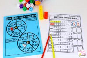 Kindergarten, Kindergarten math, comparing numbers, Counting, numbers, math games